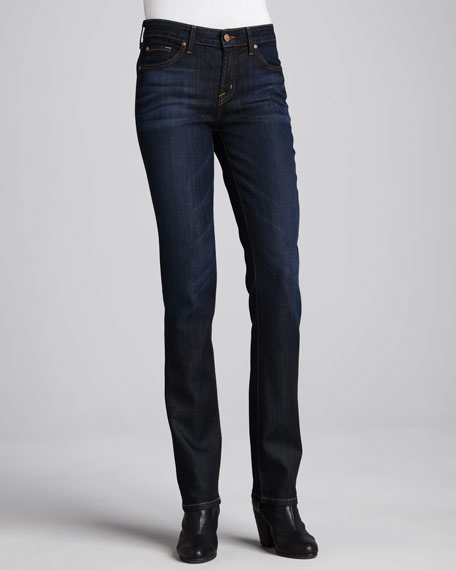 Laurel Straight-Leg Jeans, Palm