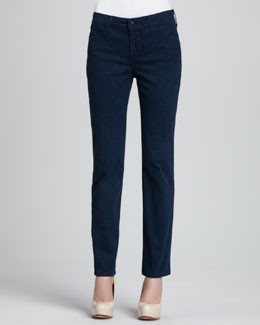 NYDJ Sheri Cheetah-Print Skinny Pants