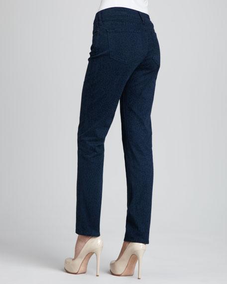 Sheri Cheetah-Print Skinny Pants
