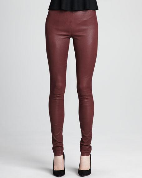 Piall Leather Leggings