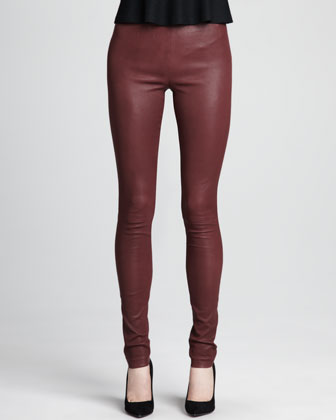 Piall Leather Leggings