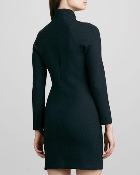 Danella Zip-Neck Dress