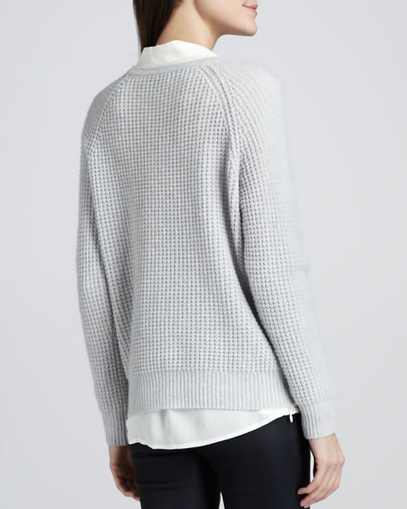 Roslynda Textured Cashmere Sweater