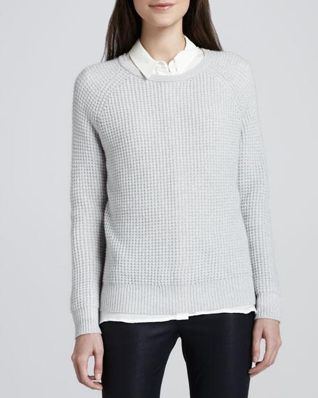 Roslynda Textured Cashmere Sweater