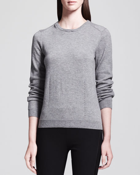 Kayla Removable-Collar Pullover