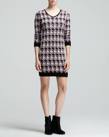 Mariah Printed Sweaterdress