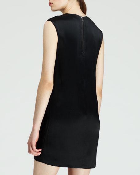 Fractal Scale-Applique Dress