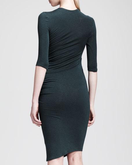 Asymmetric Nova Jersey Dress