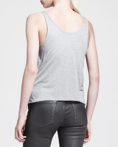 Kinetic Jersey Shirttail Tank