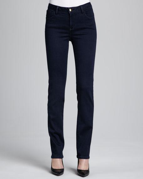 Christopher Blue Madison Roma Straight-Leg Jeans, Katrina