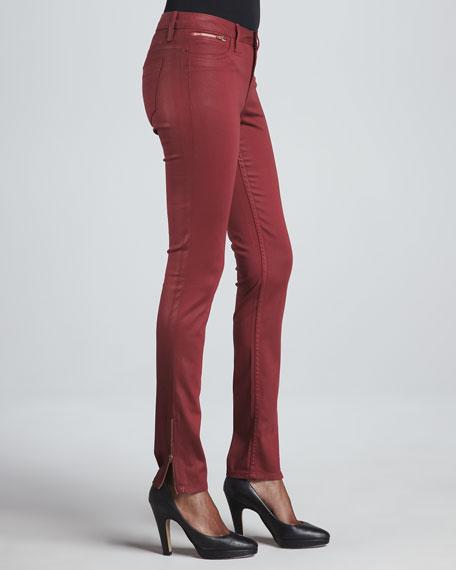 Berlin Coated Skinny Jeans