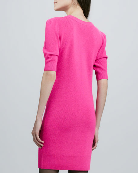 Amelie Neon Knit Dress