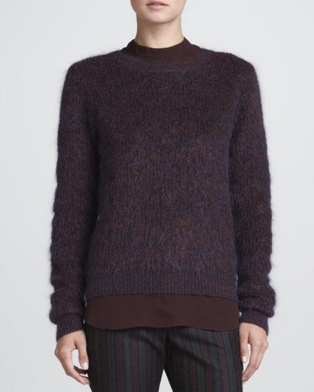Halls Fuzzy Knit Sweater