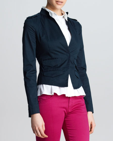 Military Twill Jacket, Perse