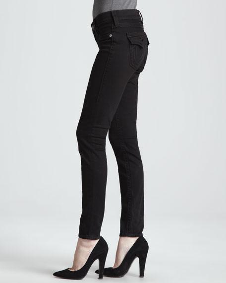 Misty Super Vixen Flap Pocket Low-Rise Super Skinny Jeans
