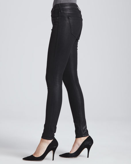Halle Coated Skinny Jeans