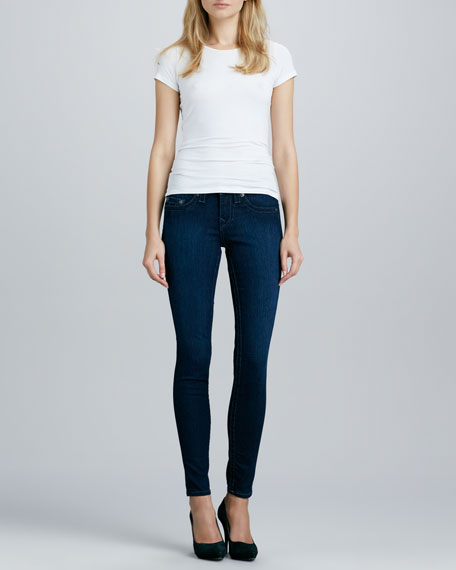 Halle Starlight High-Rise Skinny Jeans