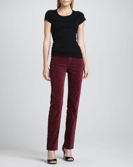 Sophia Geneva Velvet Skinny Pants