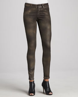 CJ by Cookie Johnson Peace Shimmer Skinny Jeans