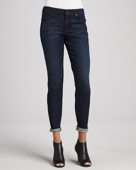 Peace Skinny Ankle Jeans