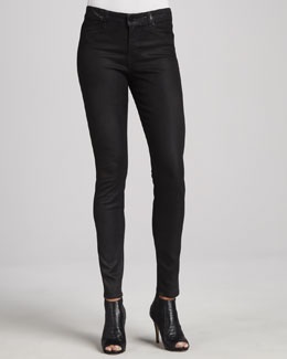 CJ by Cookie Johnson Joy Coated Jeans, Black