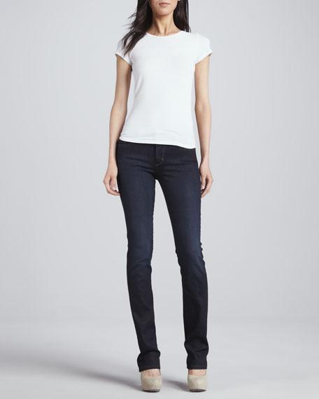 Auria Curvy Boot-Cut Jeans
