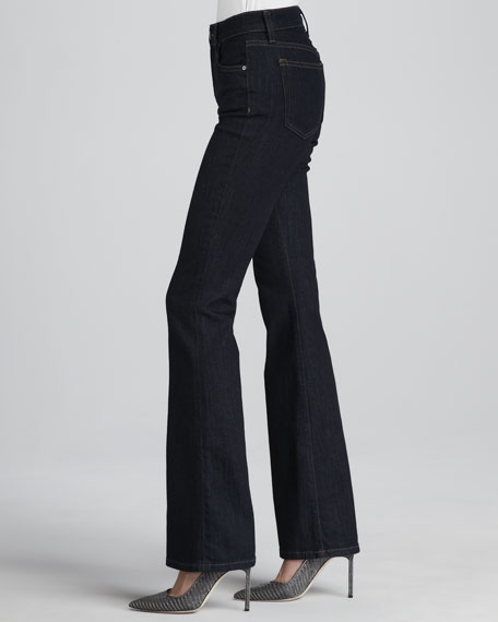Everleigh High-Rise Skinny/Flare Jeans