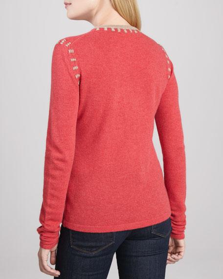 Whipstitch Cashmere Sweater