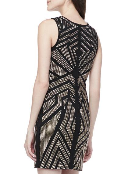 Jordan Studded Body-Con Dress