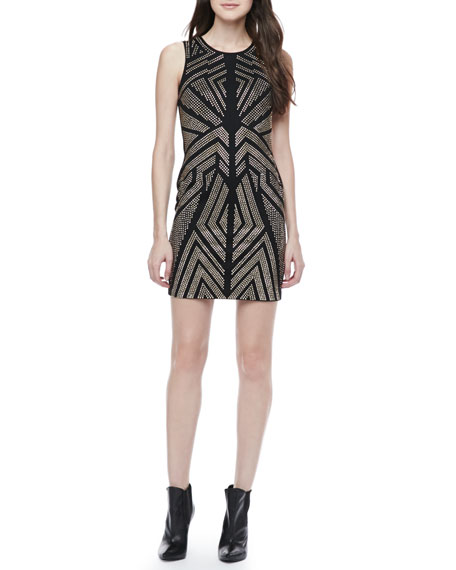 Jordan Studded Body-Con Dress