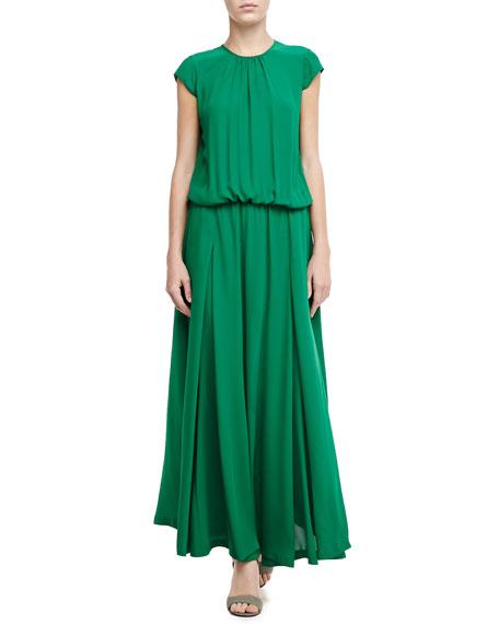Astrid Gathered Maxi Dress