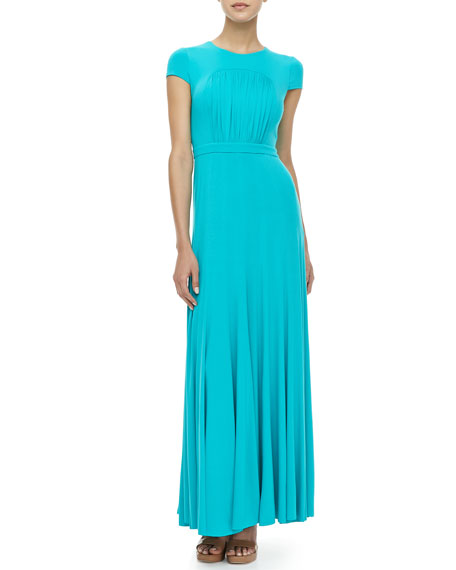 Joon Gathered Maxi Dress