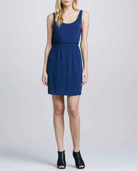 Gabby Sleeveless Chiffon Dress