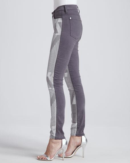 Malhia Kent The Skinny Jeans, Silver