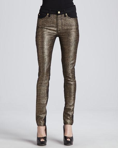 Malhia Kent The Skinny Jeans, Gold