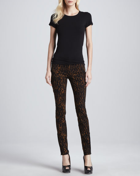 Print Mankind Jeans For Skinny All 7 Leopard BwIaHqE