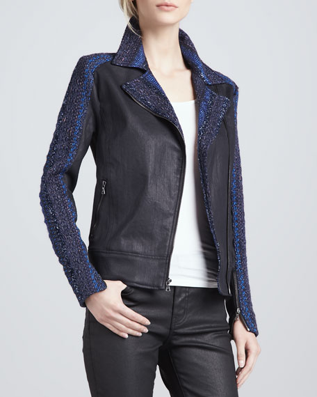 Mahlia Kent Shimmery Denim Jacket
