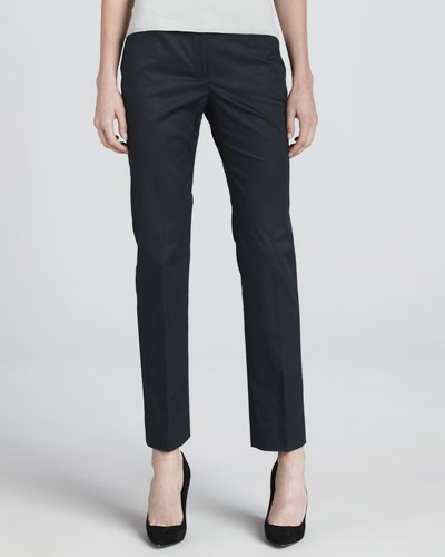 Cotton Twill Sport Pants, Blueberry