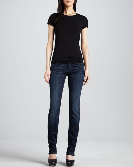 Mid-Rise Edinburgh Straight-Leg Jeans