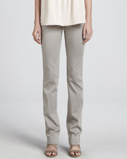 Armani Collezioni Straight-Leg Stretch Pants