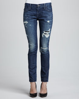 True Religion Cameron Destroyed Boyfriend Jeans