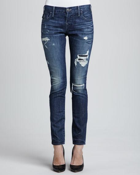 true religion cameron destroyed boyfriend jeans. Black Bedroom Furniture Sets. Home Design Ideas