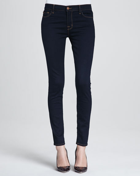 '811' Ankle Skinny Jeans (Ink)