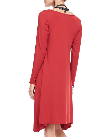 Jersey Relaxed-Fit Dress