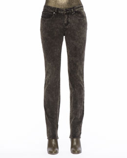 Eileen Fisher Mineral Washed Velveteen Skinny Jeans, Women's