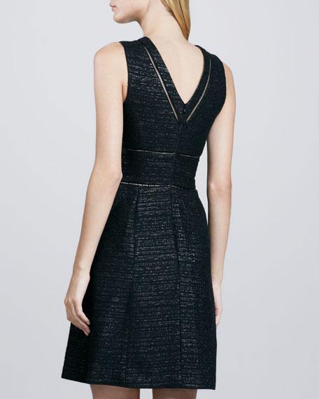 Carrigan Metallic Tweed Dress