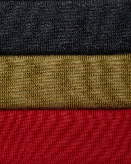 Merino Scoop-Neck Sweater