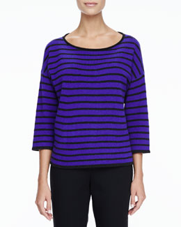 Eileen Fisher Super-Soft Yak & Merino Boxy Top