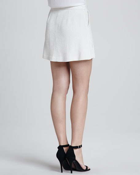 Sultry A-Line Crepe Skirt