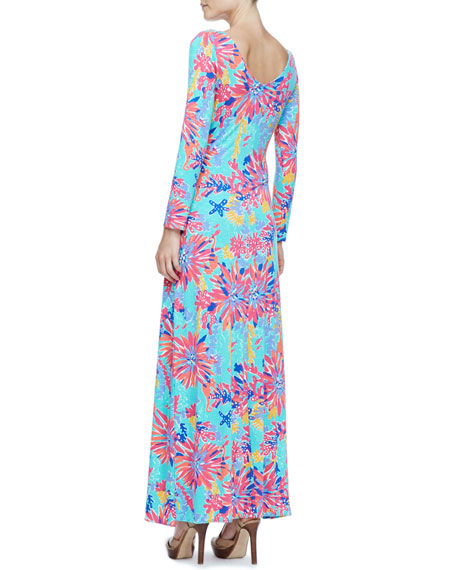 Lauren Printed Maxi Dress